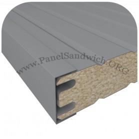 3000-Remate Forma U Panel Panel Fachadas / Sectorizacion