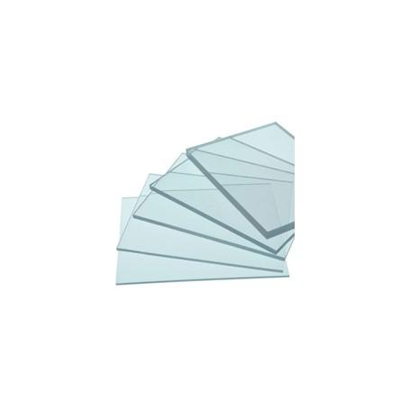 Placa de policarbonato compacto en  cristal y diferente gruesos