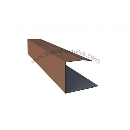 Panel imitacion teja -remate lateral