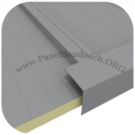 Remate para panel sandwich forma L 10x10