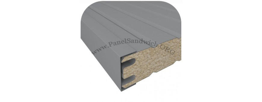 PANEL SANDWICH FACHADA - REMATERIA - Disponibles en Stock y a medida