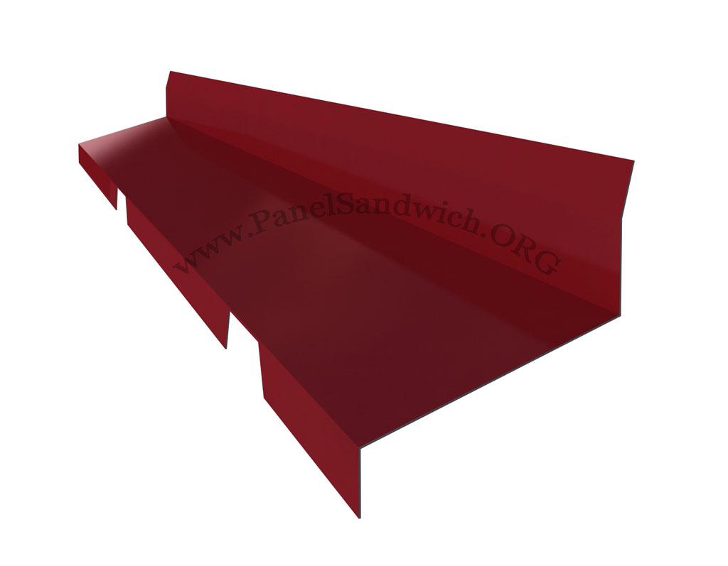 remate trasero troquelado para panel tapajuntas
