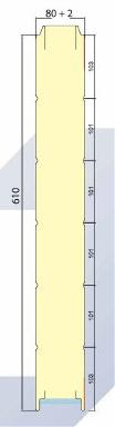 MWR 610 GS medidas