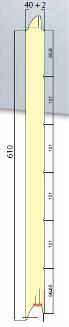 SWL 500/610 (LISO) medidas