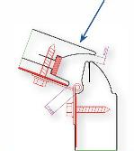 union tornillo panel puerta seccional