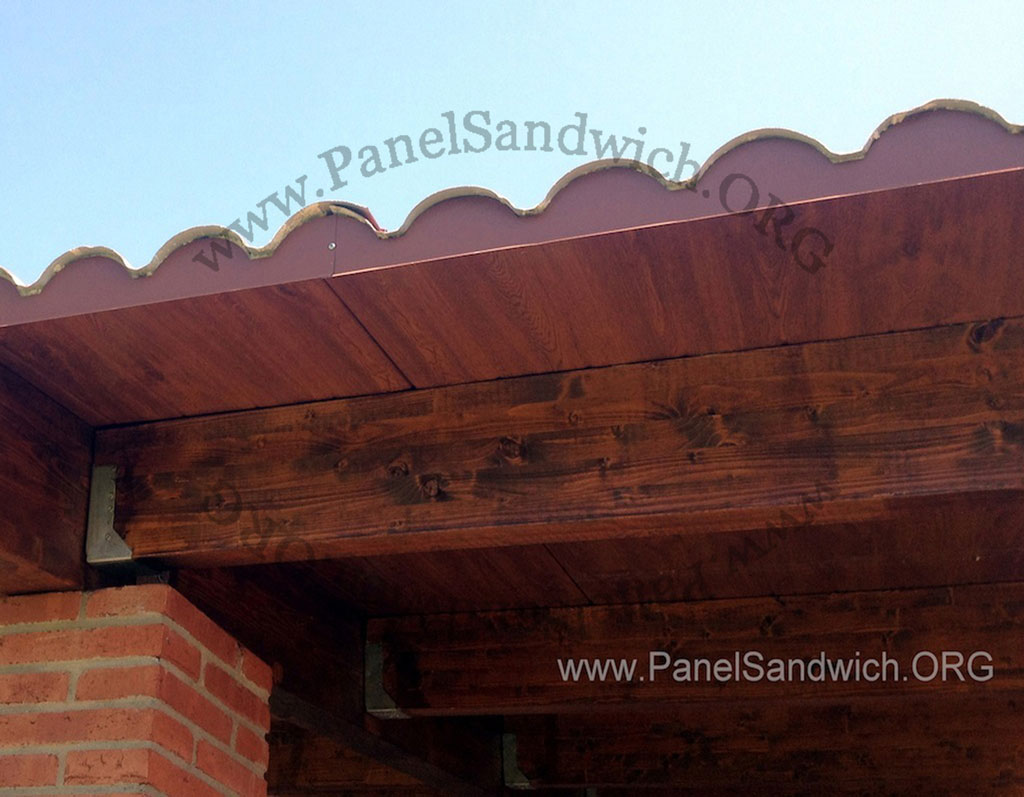 Imagenes de los paneles s ndwich instalados varios tipos - Tipos de tejados para casas ...