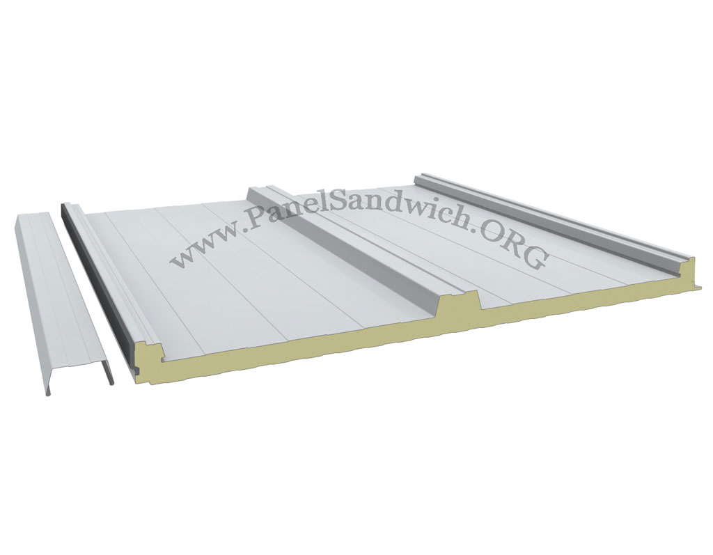 Panel Sandwich Tapajuntas de color blanco