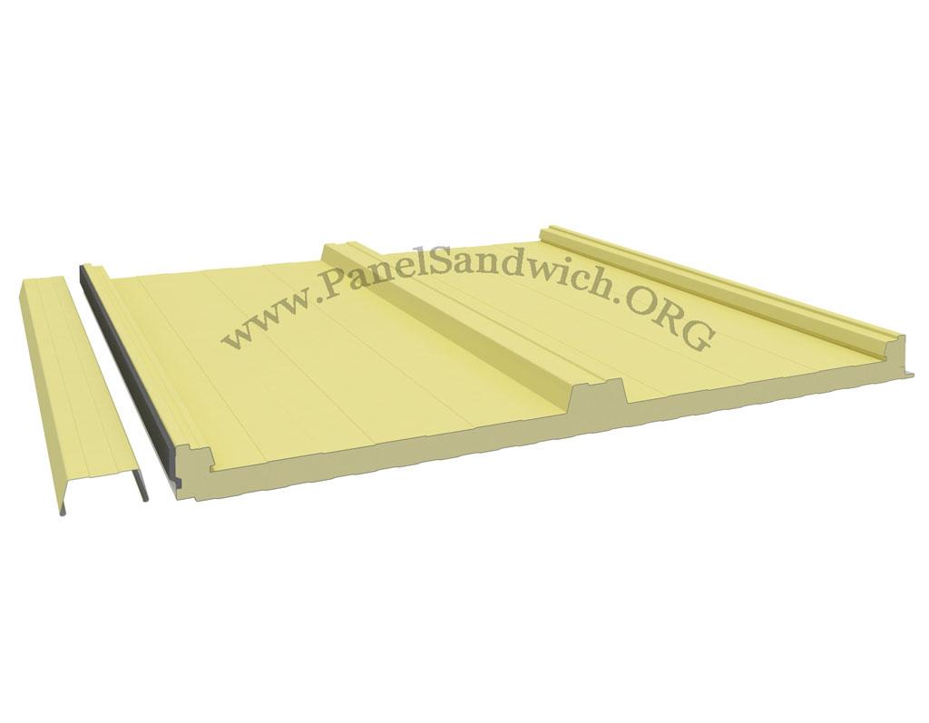 Panel Sandwich Tapajuntas de color Crema Bidasoa