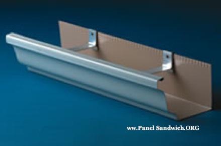 canal pluvial para paneles sandwich