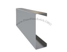 Correa metalica para techos y cubiertas