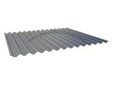 Chapa simple metálica para cubiertas o fachadas