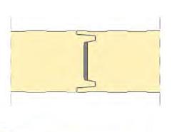 detalle union panel frigo